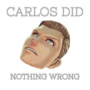 Carlos did nothing wrong by Ryuketsu