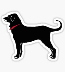 The Black Dog Sticker