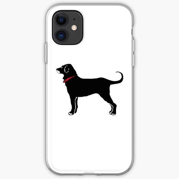 The Black Dog iPhone Soft Case