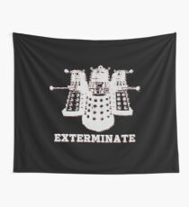 Exterminate Wall Tapestry