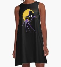The Terror that Flaps in the Night A-Line Dress