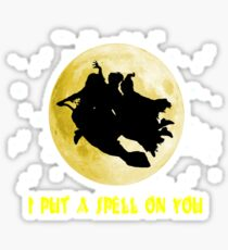Hocus Pocus (I Put A Spell On You) Sticker