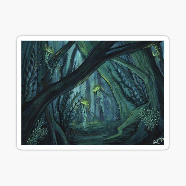 Underwater Forest Sticker