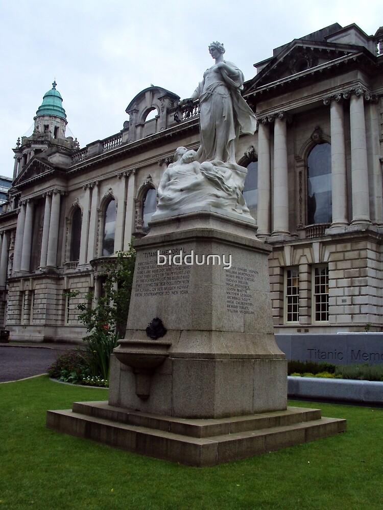 Titanic Memorial, Belfast by biddumy