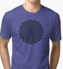 Life's Pattern Tri-blend T-Shirt