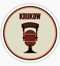 SF Giants Announcer Mike Krukow Pin Sticker
