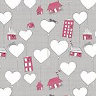 Home is where the heart is whimsy by aDanidesign