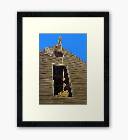 Granary in the Hudson Valley Framed Print