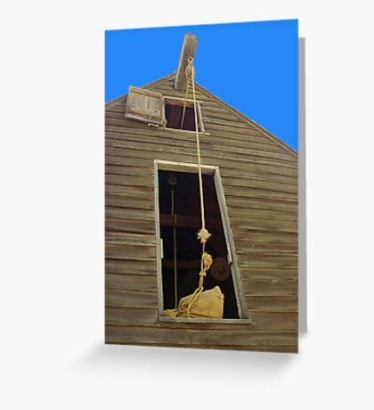 Granary in the Hudson Valley Greeting Card