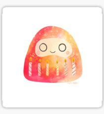 Celebrations Daruma Sticker