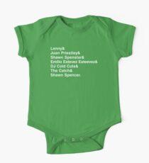 Die vielen Namen von Shawn Spencer Baby Body Kurzarm