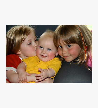 Three cousins Photographic Print