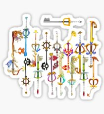 Kingdom heart Keyblade Sticker