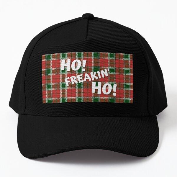 ho! freaking ho! Merry Christmas! Baseball Cap