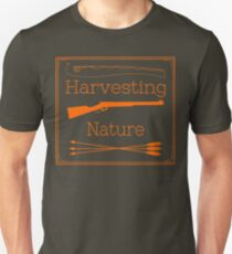Harvesting Nature Orange Logo Shirt Slim Fit T-Shirt