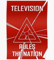 Daft Punk Pyramid Poster