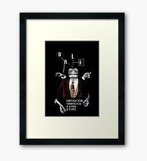 Salvador Dali Surreal Potrait  Framed Print
