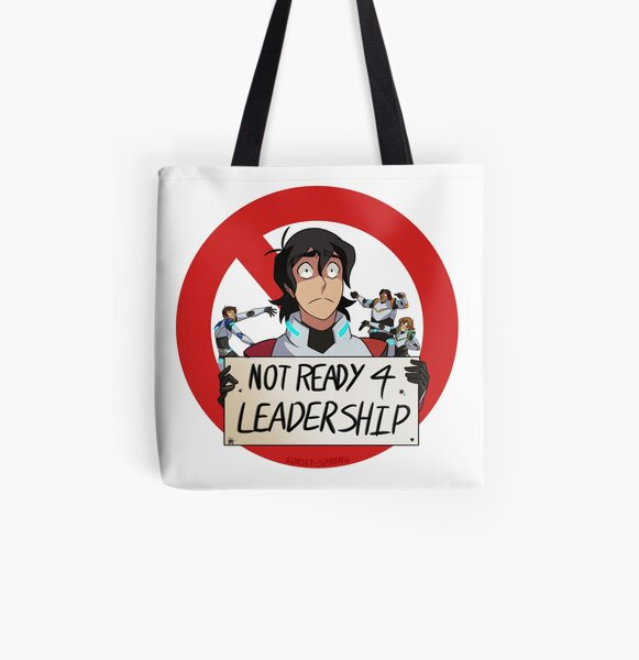 Not Ready For Leadership All Over Print Tote Bag