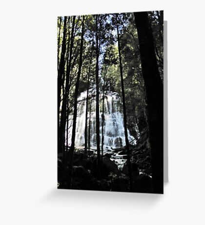 Nelson Falls Greeting Card