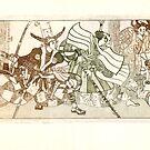 battle by Natalya   Tabatchikova