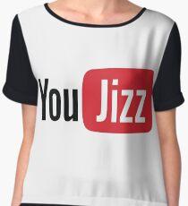 YouTube or YouJizz? Both! Women's Chiffon Top