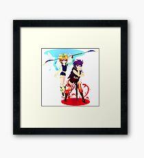Angel Devil Framed Print
