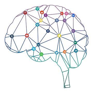 Brain Social Network by roastedseaweed