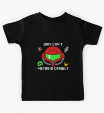 Why Can't Metroid Crawl? Kids Clothes