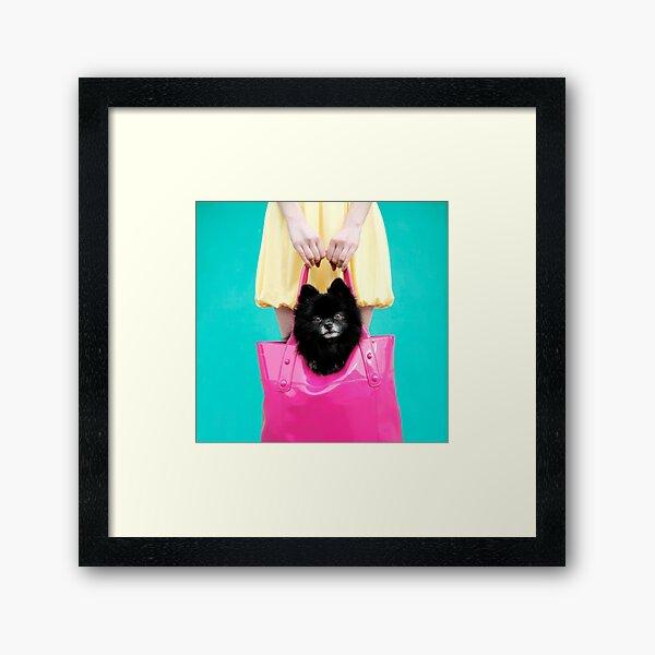 Doggie Bag Framed Art Print