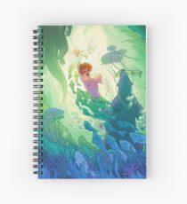 The Swamp Prince Spiral Notebook