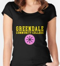 Community - Greendale Community College Women's Fitted Scoop T-Shirt