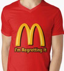 I'm Regretting It (McDonalds Parody) Men's V-Neck T-Shirt