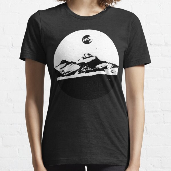 Hike with the moonlight Essential T-Shirt