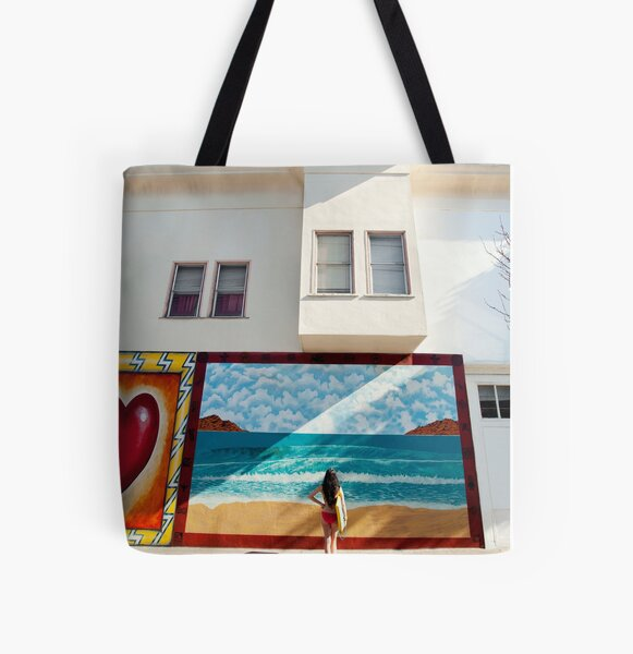 Let's Boogie All Over Print Tote Bag