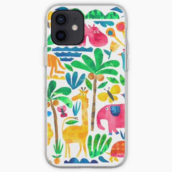 Jungle Fun iPhone Soft Case