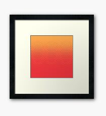 TriFade | Red Edition Framed Print