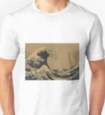 The great wave off shore of Kanagawa - Hokusai Katsushika - 1890 Unisex T-Shirt
