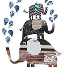 Three Elephants by TRACEYENGLISH