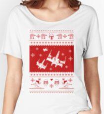 Nerd Pixel Christmas Women's Relaxed Fit T-Shirt