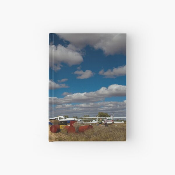 Refuelling at Tilmouth Well Hardcover Journal
