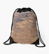 Painted Hills, Oodnadatta Track, SA Drawstring Bag