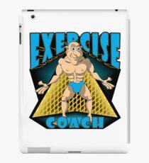 EXERCISE COACH iPad Case/Skin