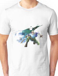 Cid Highwind Grid Artwork and Logo Unisex T-Shirt