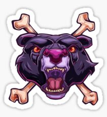 Purple Panther Sticker