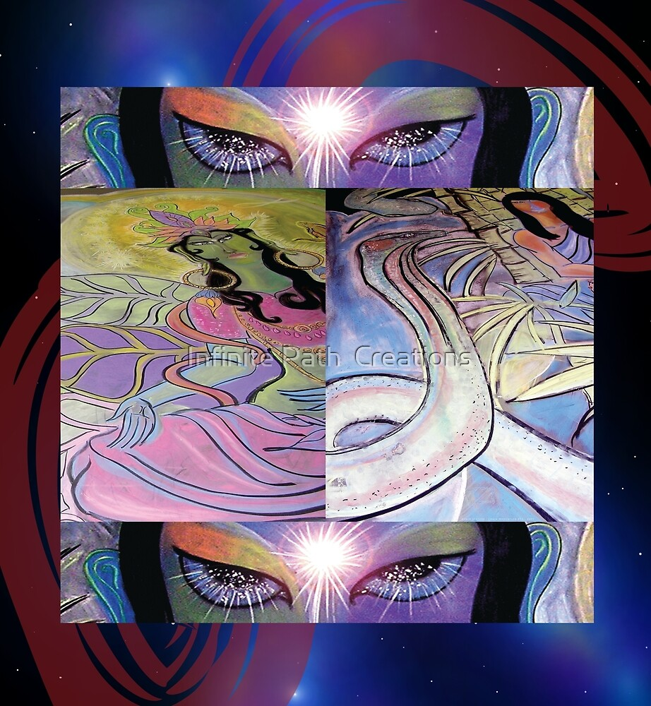 Story of the Ages - (from Chalk Meditation #13 - June 2007) by Shining Light Creations