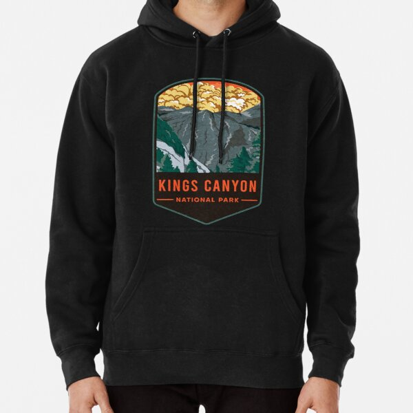 Kings Canyon National Park Pullover Hoodie