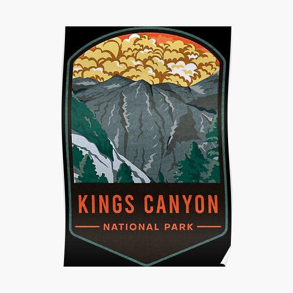 Kings Canyon National Park Poster
