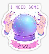 I NEED SOME MAGIC  Sticker