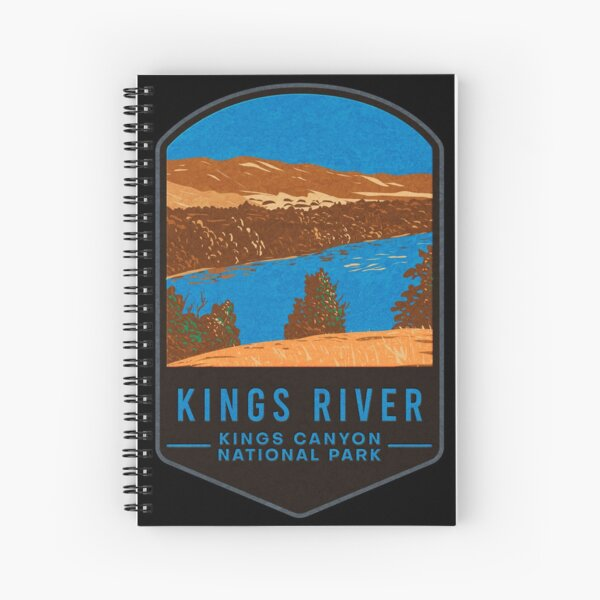 Kings Canyon National Park Spiral Notebook