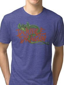 DOUBLE DRAGON - MASTER SYSTEM ART BOX Tri-blend T-Shirt
